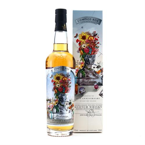Compass Box Hedonism Felicitas 20th Anniversary 70cl Image 1