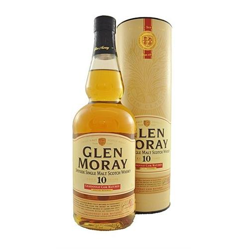 Glen Moray 10 years old Chardonnay Cask 40% 70cl Image 1