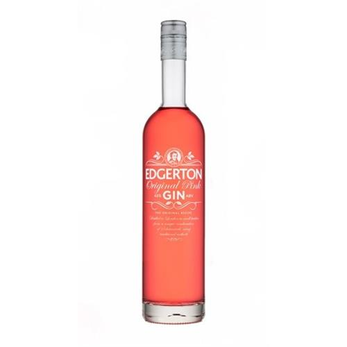 Edgerton Original Pink Dry Gin 43% 70cl Image 1