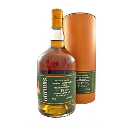Tobermory 17 years old Duthies 46% 70cl Image 1