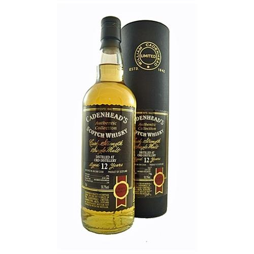 Glen Ord 12 years old 1996 Cadenheads 58.2% 70cl Image 1
