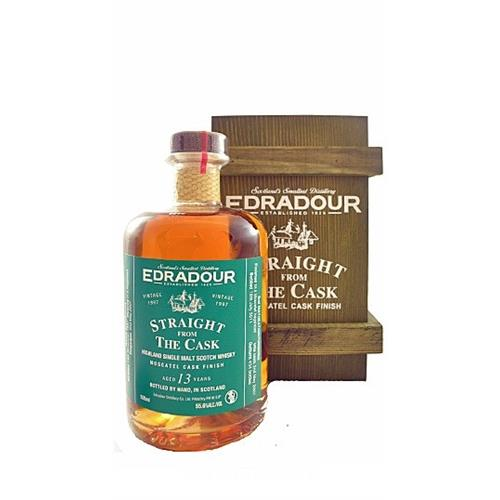 Edradour Moscatel Finish 13 years old Straight from The cask 55.6% 50cl Image 1