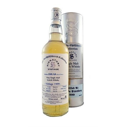 Caol Ila 1999 12 years old 46% 70cl UCF Signatory Image 1