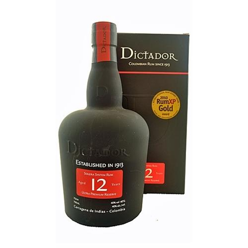 Dictador 12 years old rum Ultra Premium Reserve 40% 70cl Image 1