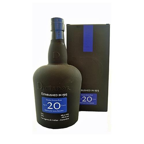 Dictador 20 years old Rum Distillery Icon Reserve 40% 70cl Image 1