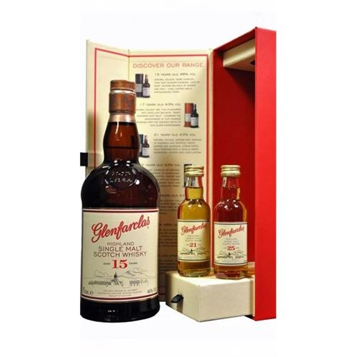 Glenfarclas 15 years old Gift Pack 46% 70cl Image 1