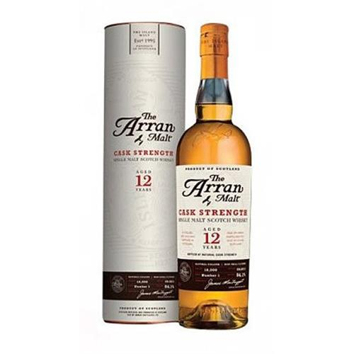 Arran 12 years old Cask Strength 53.2% 70cl Image 1