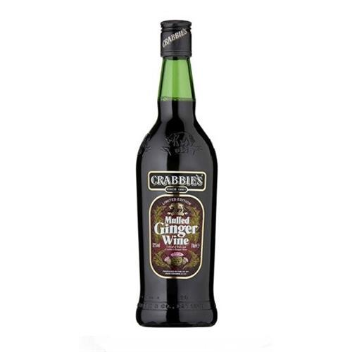 Crabbies Mulled Ginger Wine 12% 70cl Image 1