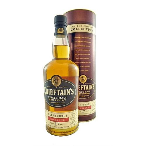 Glenturret 17 years old Chieftans 43% 70cl Image 1