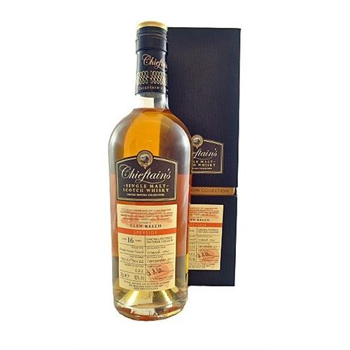 Glen Keith 16 years old 1995 Chieftans Limited edition 43% 70cl Image 1