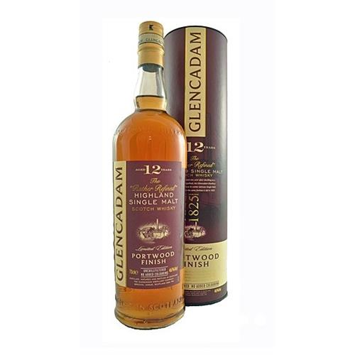 Glencadam 12 years old Portwood Finish 46% 70cl Image 1