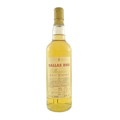 Dallas Dhu Millennium 25 years old Cask No.2599 no.214 43% 70cl Image 1