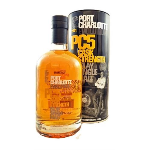 Port Charlotte Evolution PC5 Bruichladdich 63.5% 70cl Image 1