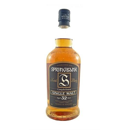 Springbank 32 years old 46% vol 70cl Image 1