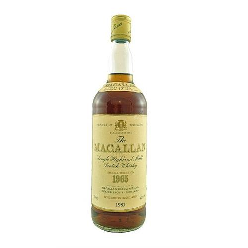 Macallan 1965 17 years old 43% 75cl Image 1