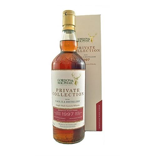 Caol Ila 1997 Hermitage Wood Finish Private Collection G&M 45% 70cl Image 1