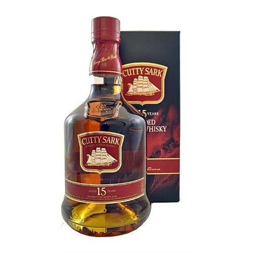 Cutty Sark 15 years old Blended Scotch 40% 70cl Image 1