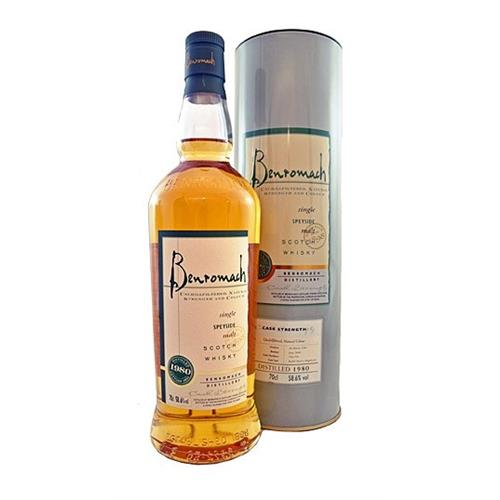 Benromach 1980 cask strength 58.6% 70cl Image 1
