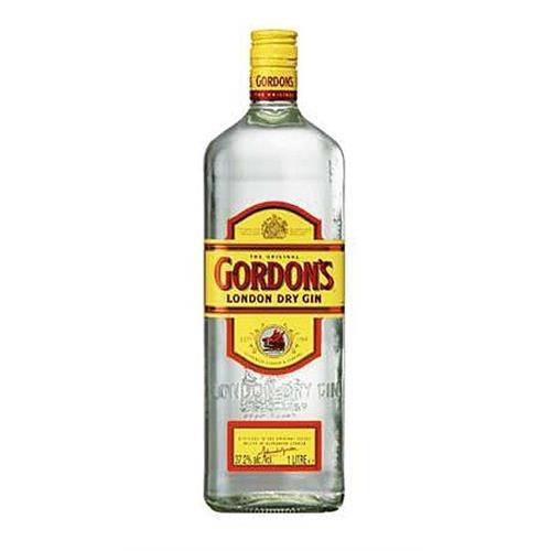 Gordons London Dry Yellow Label 37.5% 100cl Image 1
