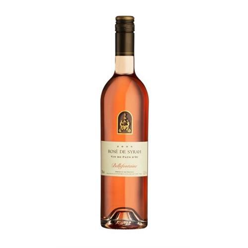 Bellefontaine Rose de Grenache 2016 Vin de Pays D'Oc 75cl Image 1
