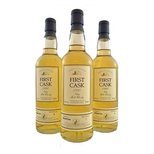 Port Ellen First Cask 1980 Bottles No.1No.2 & No.3 46% 70cl Image 1