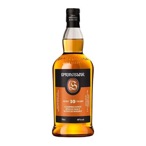 Springbank 10 Year Old Single Malt Whisky 70cl Image 1