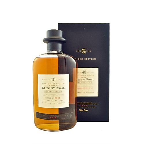 Glenury Royal 40 years old 1970 59.4% 70cl Image 1