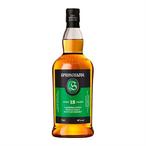 Springbank 15 Year Old Single Malt Whisky 70cl Image 1