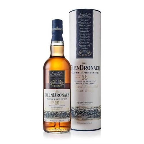 The Glendronach 15 years old Tawny Port Finish 46% 70cl Image 1