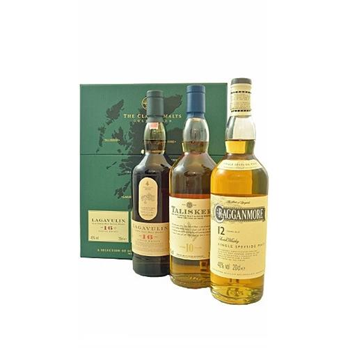The Classic Malts Gift Pack Strong 3x20cl Image 1