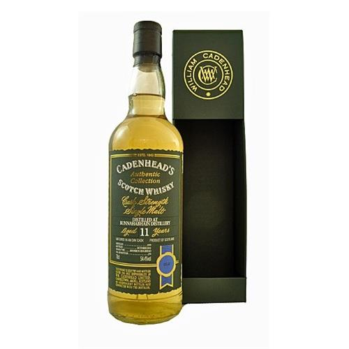 Bunnahabhain 11 years old 1999 Cadenheads 54.4% 70cl Image 1
