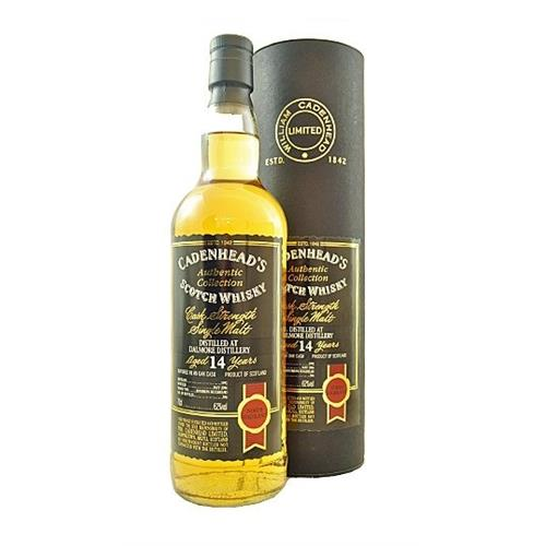 Dalmore 14 years old 1992 Cadenheads 62% 70cl Image 1