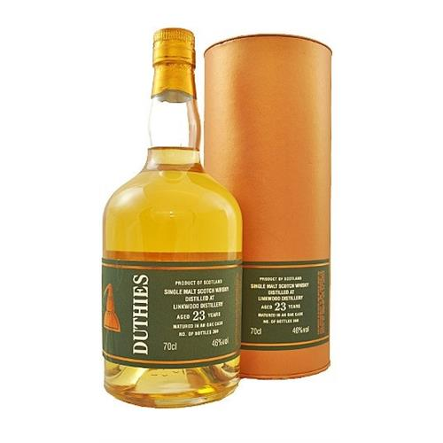 Duthies Linkwood 23 years old 46% 70cl Image 1