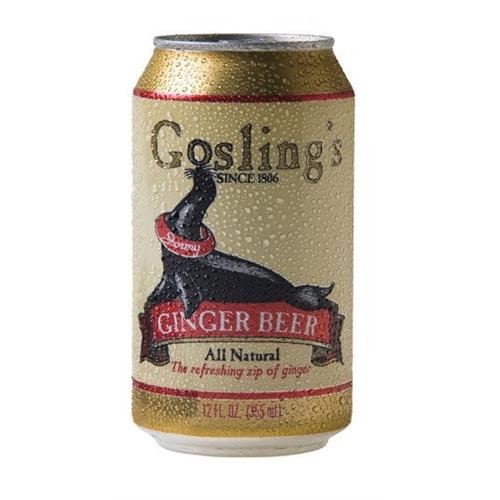Gosling's Stormy Ginger Beer 330ml Image 1