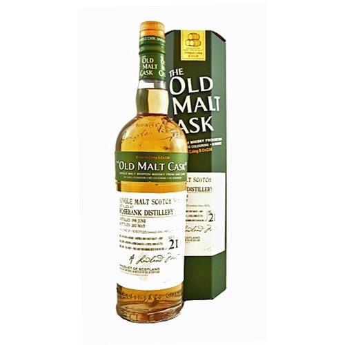 Rosebank 1990 21 years old Old Malt Cask 50% 70cl Image 1