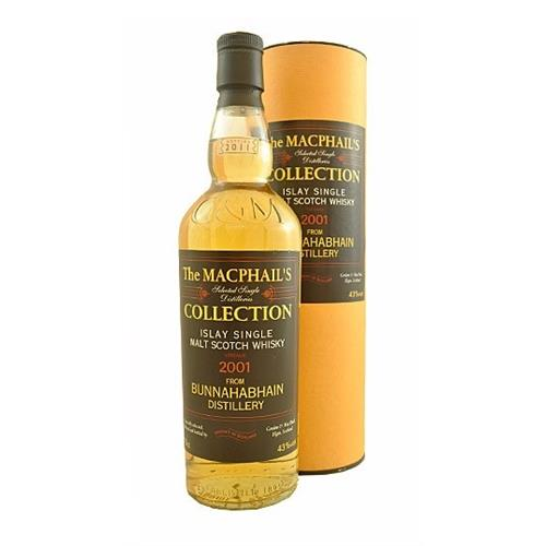 Bunnahabhain 2001 Macphails Collection 43% 70cl Image 1