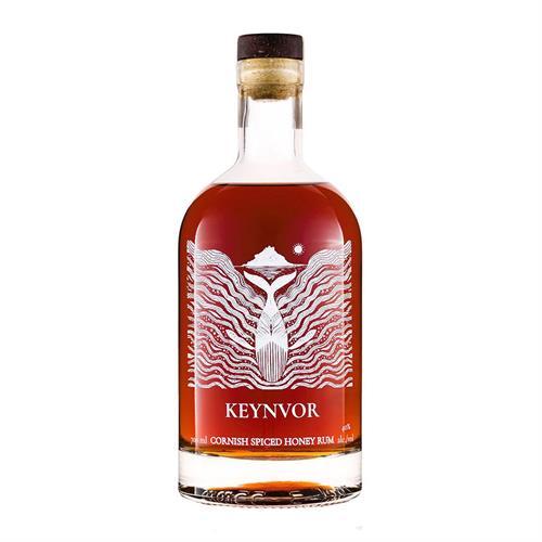 Keynvor Cornish Spiced Honey Rum 70cl Image 1