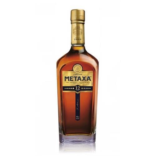 Metaxa 12 Star Brandy 40% 70cl Image 1