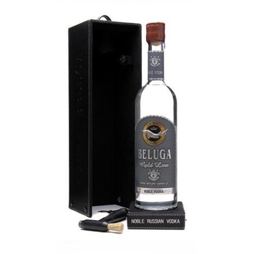 Beluga Gold Line Vodka In leather Box 40% 70cl Image 1