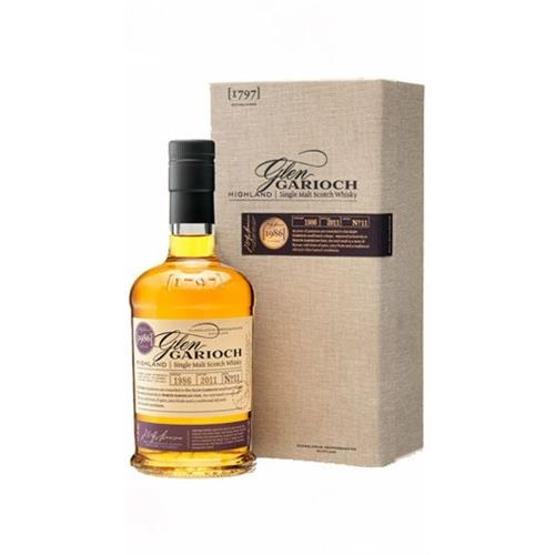 Glen Garioch 1986 25 years old Batch No.11 54.6% 70cl Image 1