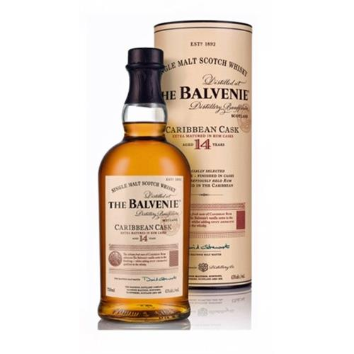 Balvenie Carribbean Cask 14 years old 43% 70cl Image 1