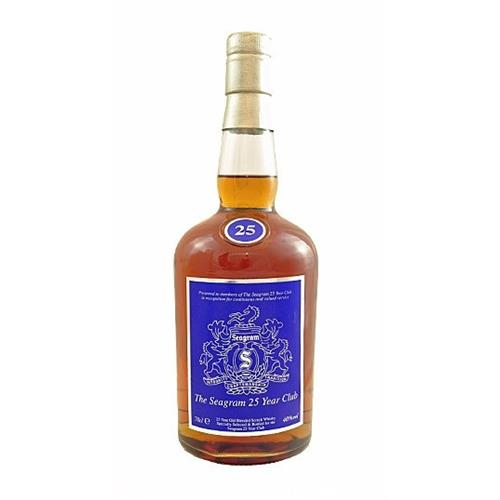 The Seagrams 25 year Club Whisky 40% 70cl Image 1