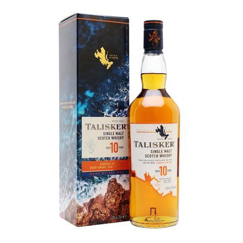 Talisker 10 Year Old Single Malt 70cl Image 1
