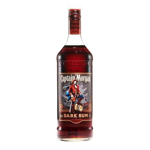 Captain Morgan Dark Rum 70cl Image 1
