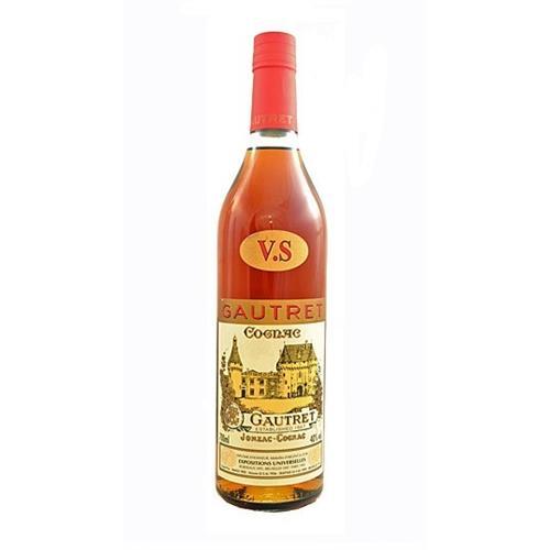 Gautret VS Cognac 40% 70cl Image 1