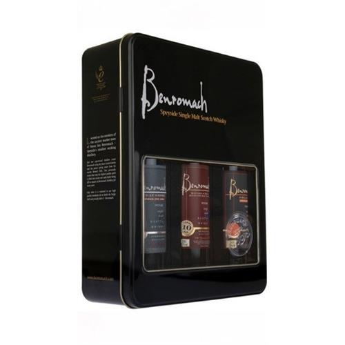 Benromach Gift Tin 3x 20cl Image 1