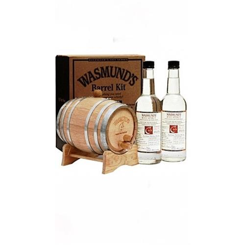 Wasmund's Barrel Kit Single Malt and Barrel 62% 2x70cl Image 1