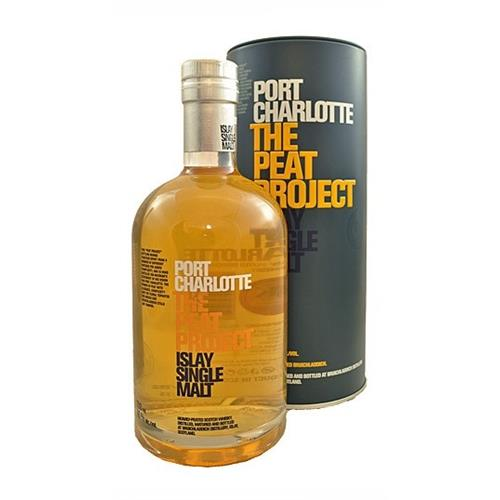 Port Charlotte The Peat Project Bruichladdich 46% 70cl Image 1