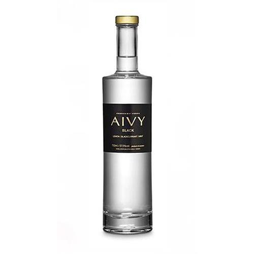 Aivy Black Vodka Blackcurrant and Mint 70cl Image 1