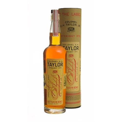 EH Taylor Straight Rye Whiskey 50% 75cl Image 1